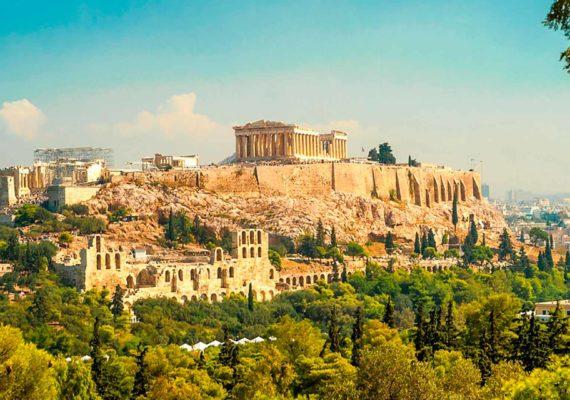 Отдых в Афинах (фото)